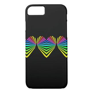Iphone case för CricketDiane Popart hjärtahjärtor