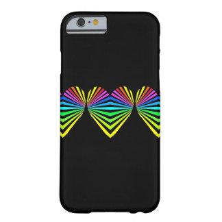 Iphone case för CricketDiane Popart hjärtahjärtor Barely There iPhone 6 Skal