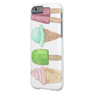 Iphone case för glasskottePopsicle Barely There iPhone 6 Fodral