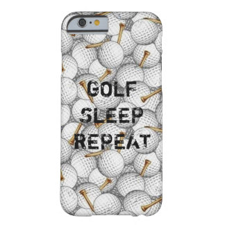 Iphone case för Golfsömnrepetition Barely There iPhone 6 Skal