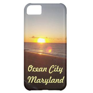 Iphone case för havstadssoluppgång iPhone 5C fodral