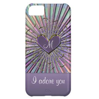 Iphone case för hjärta 5 för iPhone 5C fodral