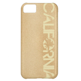 Iphone case för Kalifornien strandSand iPhone 5C Fodral