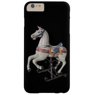 Iphone case för karusell B för trähäst antik Barely There iPhone 6 Plus Fodral