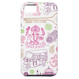 Iphone case för konst för Indien ganeshayoga iPhone 5 Hud