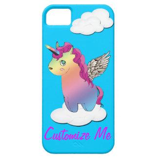 iphone case för mashup för unicornregnbågememe iPhone 5 fodral