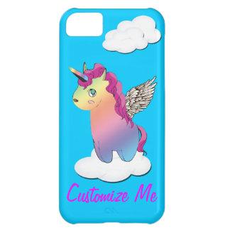 iphone case för mashup för unicornregnbågememe iPhone 5C fodral