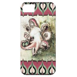 "Iphone case ""för murgröna"" för shock rosa- & iPhone 5 Case-Mate cases"