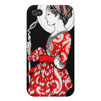 Iphone case för St. Lucy iPhone 4 Fodraler