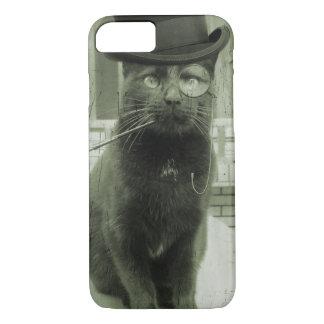 Iphone case för vintageSteampunk LOL rolig katt