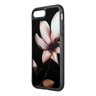 iphone case för vitblommaotterbox OtterBox symmetry iPhone 7 plus skal