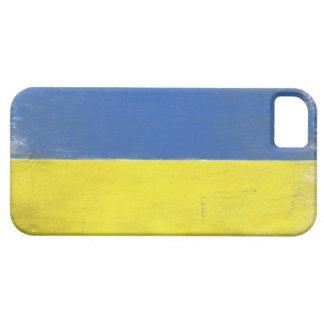 iphone case med bekymrad ukrainsk flagga iPhone 5 fodral