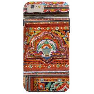 iphone case med skraj lastbilkonst tough iPhone 6 plus skal