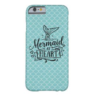 Iphone case - sjöjungfru på hjärta barely there iPhone 6 fodral
