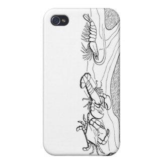 iphone case/skaldjur iPhone 4 fodral