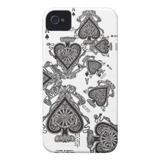 iphone case som leker slumpmässig många för kort iPhone 4 fodral