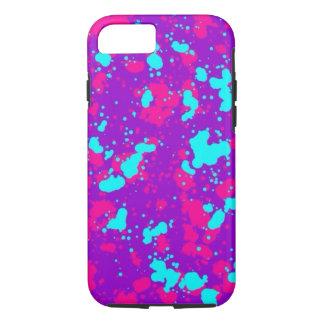 iPhone för färgstänkcoola 7 fodral för flickor