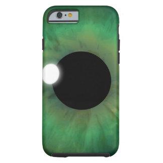 iPhone för ögonglob för eyePhonegröntöga tuff 6 Tough iPhone 6 Fodral