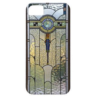 IPhonen för art décomålat glassfönster täcker Barely There iPhone 5 Fodral