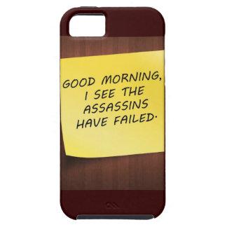 iphonevibefodral - jag ser mördarna ha misslyckats tough iPhone 5 fodral