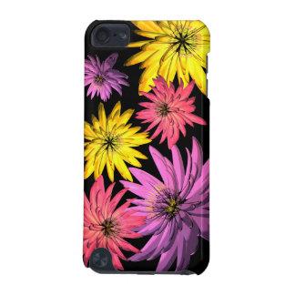 Ipod fodral för lilor för rosor gul illustrerad bl iPod touch 5G fodral