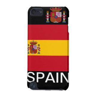 Ipod touch case för Spanien vapensköldflagga