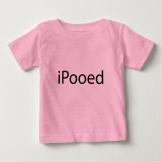 iPooed t-skjorta 6 mos Tee