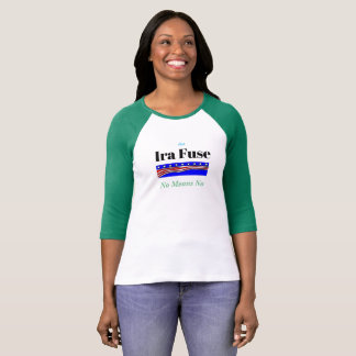 Ira fixerar inga elak ingen galen kampanjskjorta t shirt