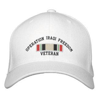 Irakisk frihetsveteran för funktion broderad keps