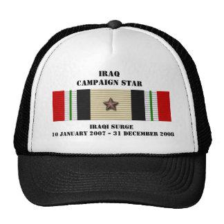 Irakisk svallvågkampanjstjärna keps