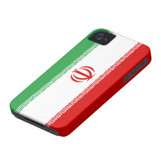Iran flagga Case-Mate iPhone 4 skal