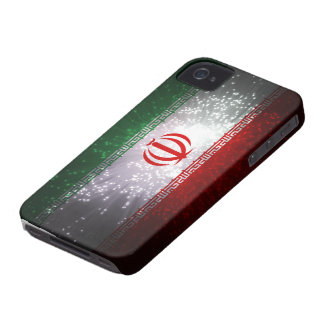 Iran flaggafyrverkeri Case-Mate iPhone 4 skydd