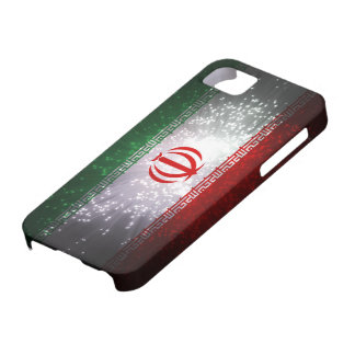 Iran flaggafyrverkeri iPhone 5 Case-Mate fodral