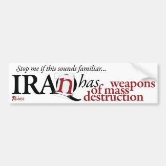 Iran har WMD Bildekaler