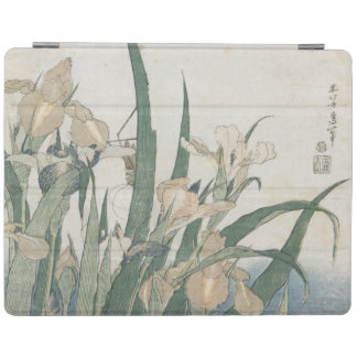 Irisblommor och gräshoppa, c.1830-31 iPad skydd