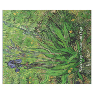 Irisen av Van Gogh. Målning för Presentpapper