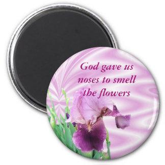 Irisen magnet-skräddarsy magnet