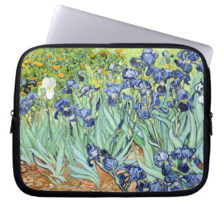 Irises av Van Gogh Laptop Sleeve