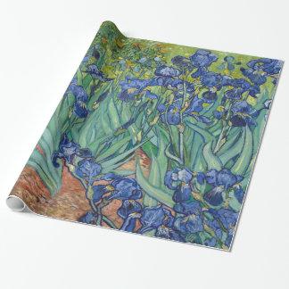 Irises av Van Gogh Presentpapper