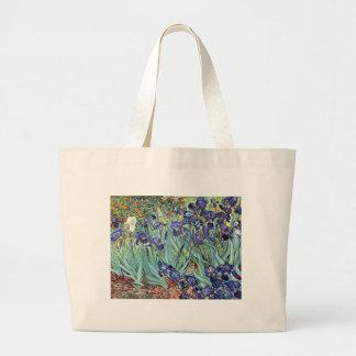Irises av Vincent Van Gogh 1898 Jumbo Tygkasse