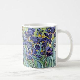 Irises av Vincent Van Gogh 1898 Kaffemugg