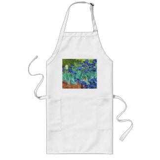 Irises av Vincent Van Gogh Långt Förkläde