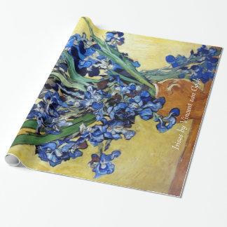 Irises av Vincent Van Gogh. Presentpapper