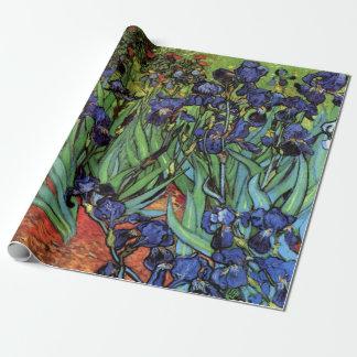 Irises av Vincent Van Gogh, trädgårds- konst för Presentpapper