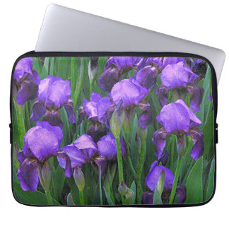 IRISES FÖR BÄRBAR DATOR SLEEVE/13 IN. /PURPLE LAPTOP SLEEVE