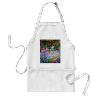 Irises i Monets trädgård Förkläde