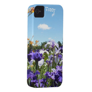 Irises- och himmeliphone 3 fodral*Personalize* Case-Mate iPhone 4 Fodraler