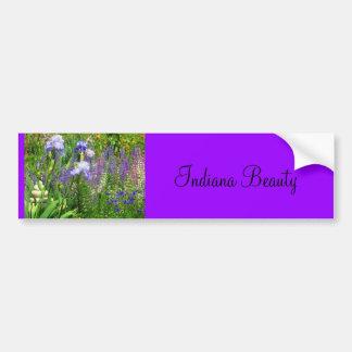 Irises, tulpan och vildblommar av Indiana Bildekal