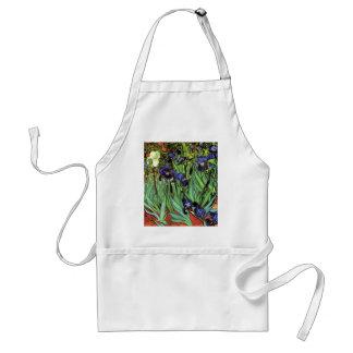 Irises vid Van Gogh konst Förkläde