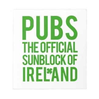 Irland Anteckningsblock